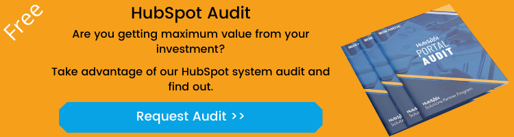 HubSpot Portal Audit - Request your audit now