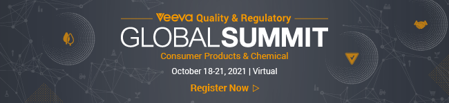 Register for the 2021 Veeva Quality & Regulatory Global Summit