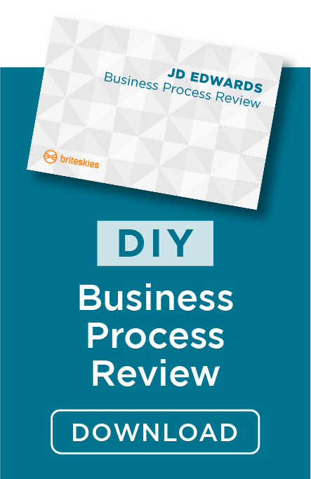How to Run a JD Edwards Business Process Review