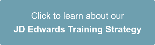 click to learn about our jd edwards training strategy