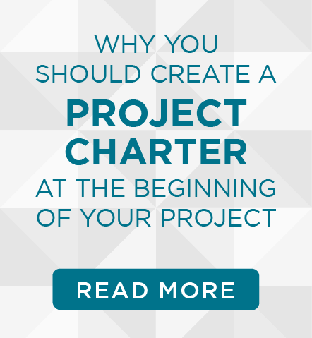why you should create a project charter