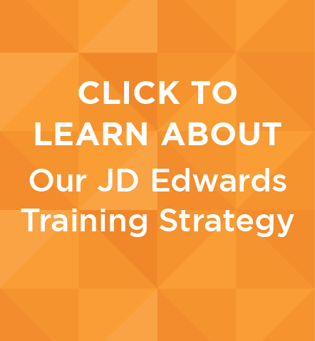 JD Edwards Training Strategy