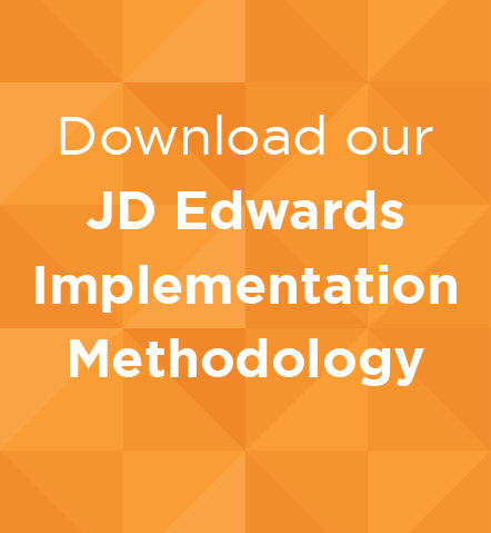 Download our JD Edwards Implementation Methodology