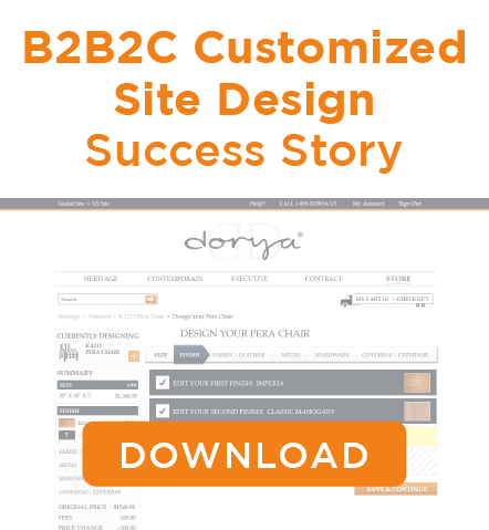 Dorya Custom Site Design and Implementation