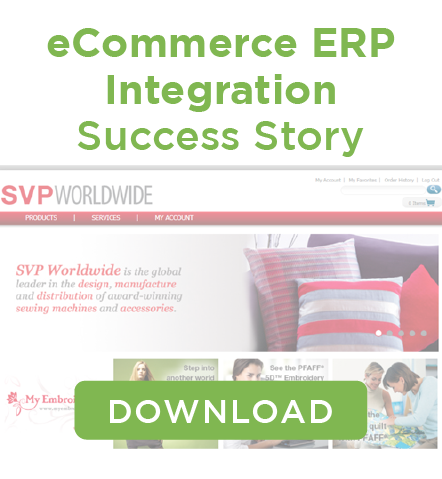 SVP Worldwide eCommerce ERP Integration Case Study