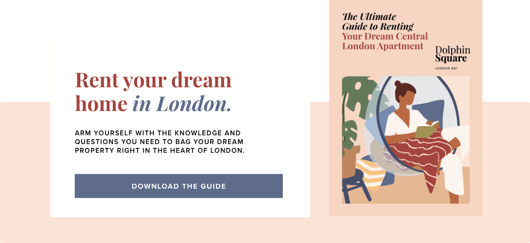 Dream Central London Apartment Call To Action