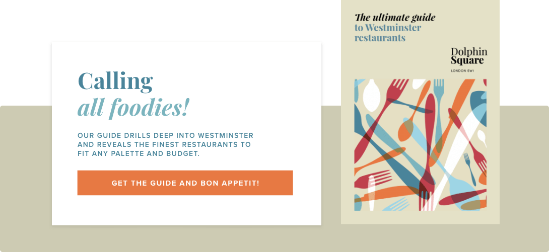 Westminster Restaurants Call To Action