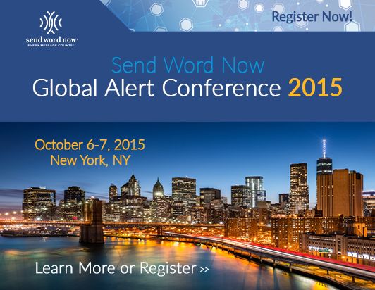 Send Word Now Global Alert Conference