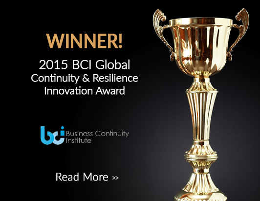 Send Word Now Wins BCI Global Continuity and Resilience 2015 Award