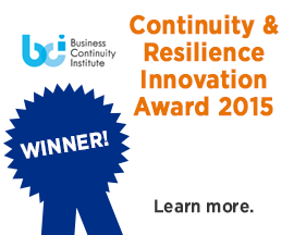 Send Word Now wins BCI Continuity and Resilience Innovation 2015 Award