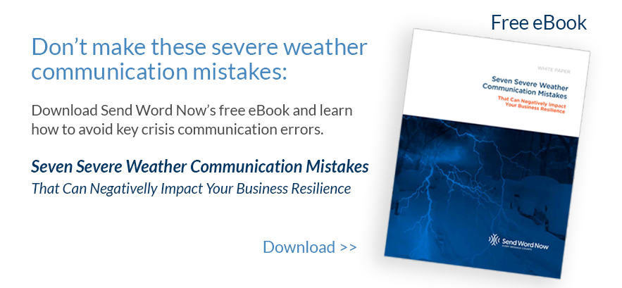 Seven Severe Weather Communication Mistakes