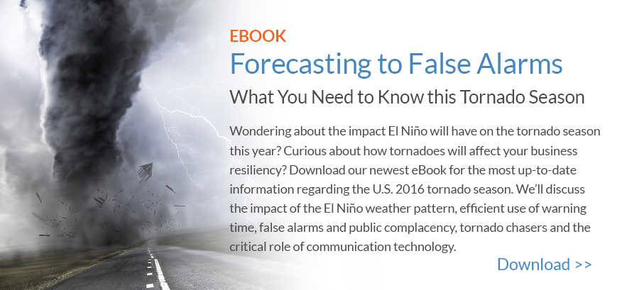 Download the Tornado eBook - Forecasting to False Alarms