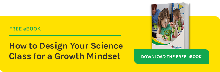 How to Design Your Science Class for a Growth Mindset