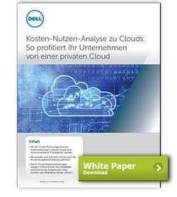 Dell White Paper Kosten-Nutzen-Analyse von Clouds