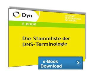 Die Stammliste der DNS-Terminologie