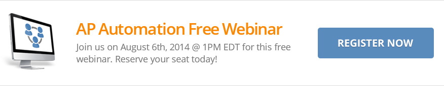 Free Webinar: AP Automation, August 6th