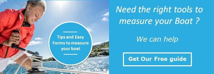 Boat measurement guide