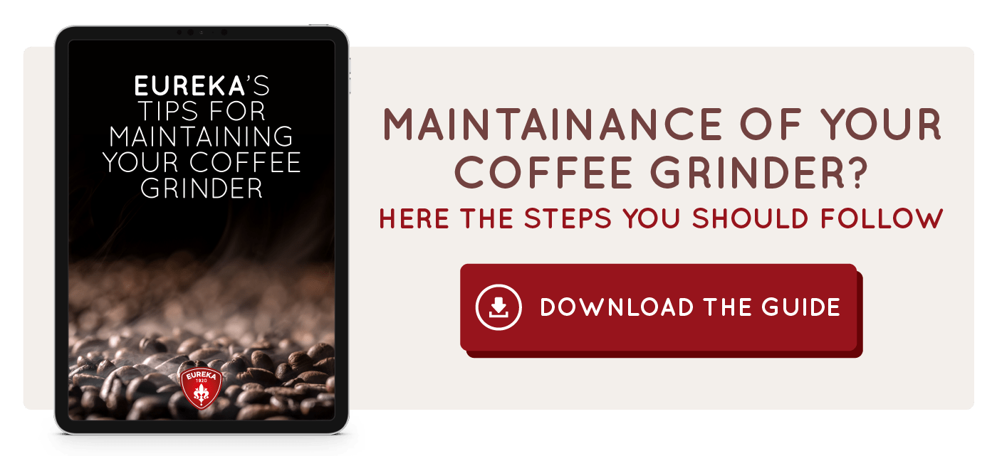 Maintainance of your coffee grinder? Here the steps you should follow