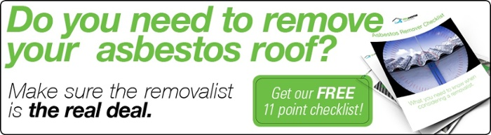 Do you need to remove your asbestos roof?