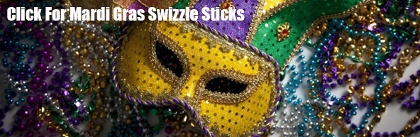 Mardi Gras Swizzle Sticks Royer Corp