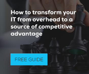 How to transform your IT into competitive advantage