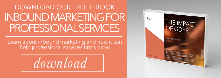 Introduction To Inbound Marketing For Professional Services