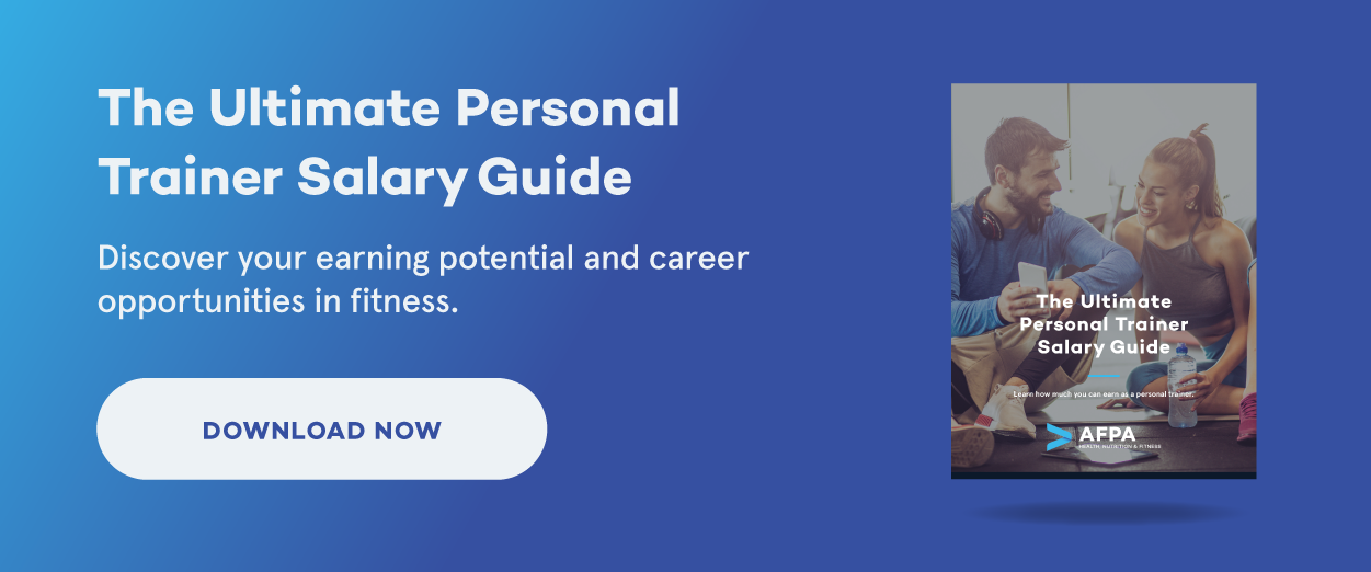 personal trainer salary guide
