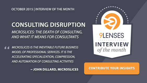 9Lenses Interview of the Month Graphic