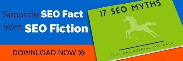 SEO myths ebook