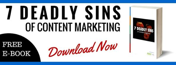 deadly sins of content marketing