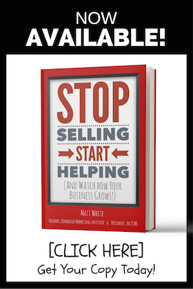 stop selling start helping book