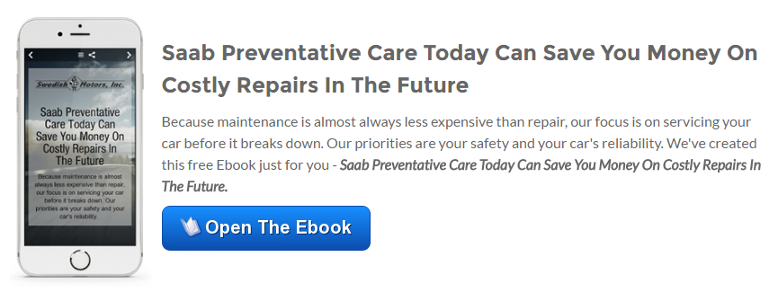 Open The Saab Preventive Care Today Can Save You Money On Costly Repairs In The Future Ebook