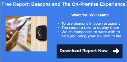 Free Report: Beacons Technology in Restaurants