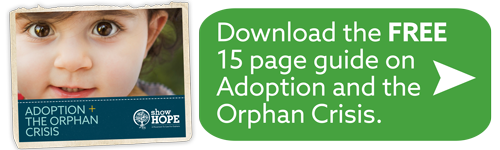 Download the FREE 15 page guide on Adoption and the Orphan Crisis