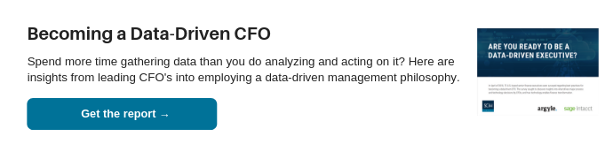"Download the ""Becoming a Data-Driven CFO"" Report"