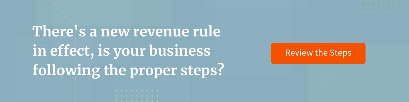 New Revenue Rule