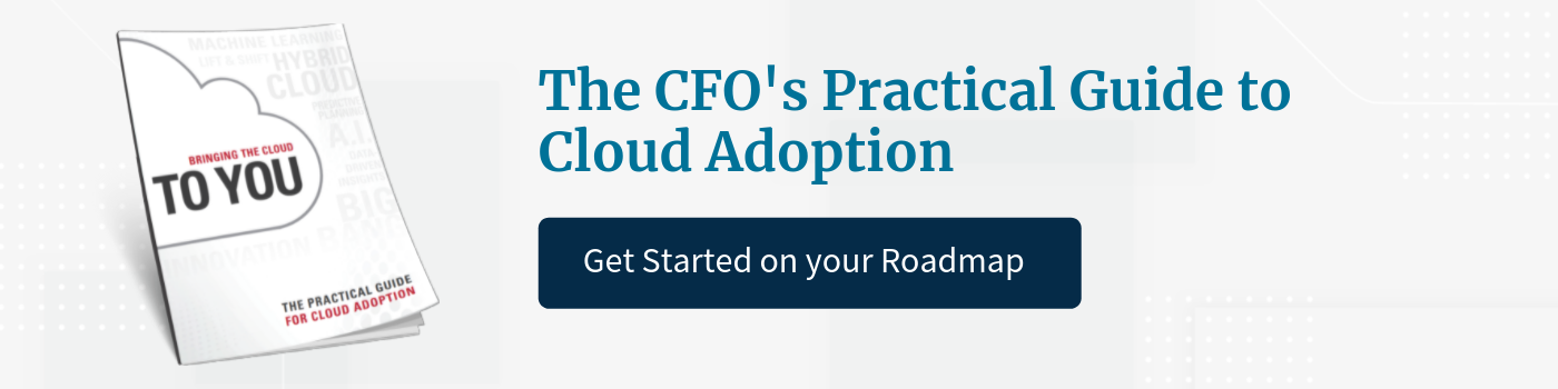 CFOs Guide to Cloud Adoption