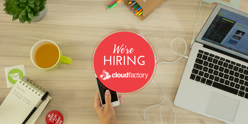 CloudFactory is hiring.