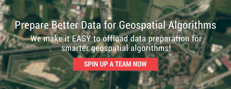 Better Data for Geospatial Algorithms