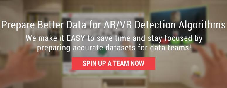 Better Data for AR/VR Detection Algorithms