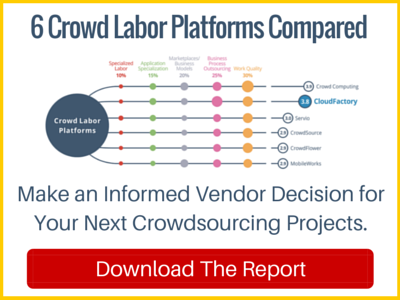 Download the report today to make an informed vendor decision for your next crowdsourcing projects.
