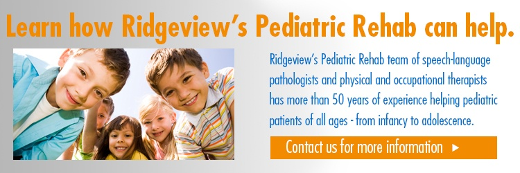 Pediatric Rehab appointment request