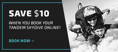 Tandem Skydiving Savings at Chicagoland Skydiving Center
