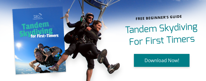 Tandem skydiving guide