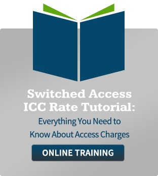 Switched Access ICC Rate Tutorial