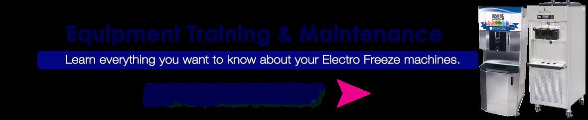 Electro Freeze Maintenance Videos