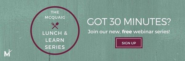 Join the new McQuaig Lunch & Learn webinar series!
