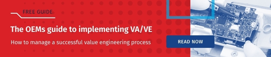 Value Engineering guide for manufacturing