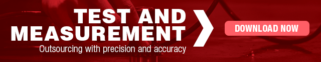 Test and Measurement: Outsourcing with precision and accuracy
