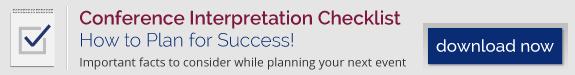 Download our Conference Interpretation Checklist!